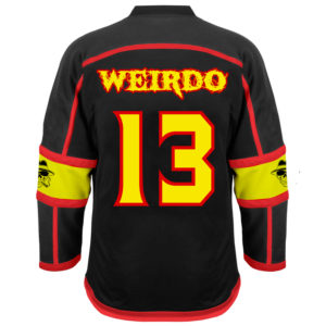 Weirdo Hockey Back