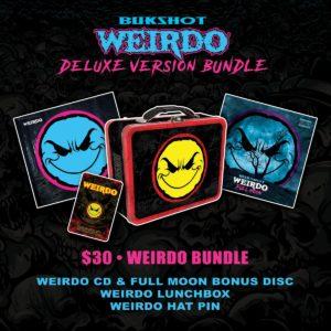 """Bukshot """"Weirdo"""" CD (Deluxe Version)"""
