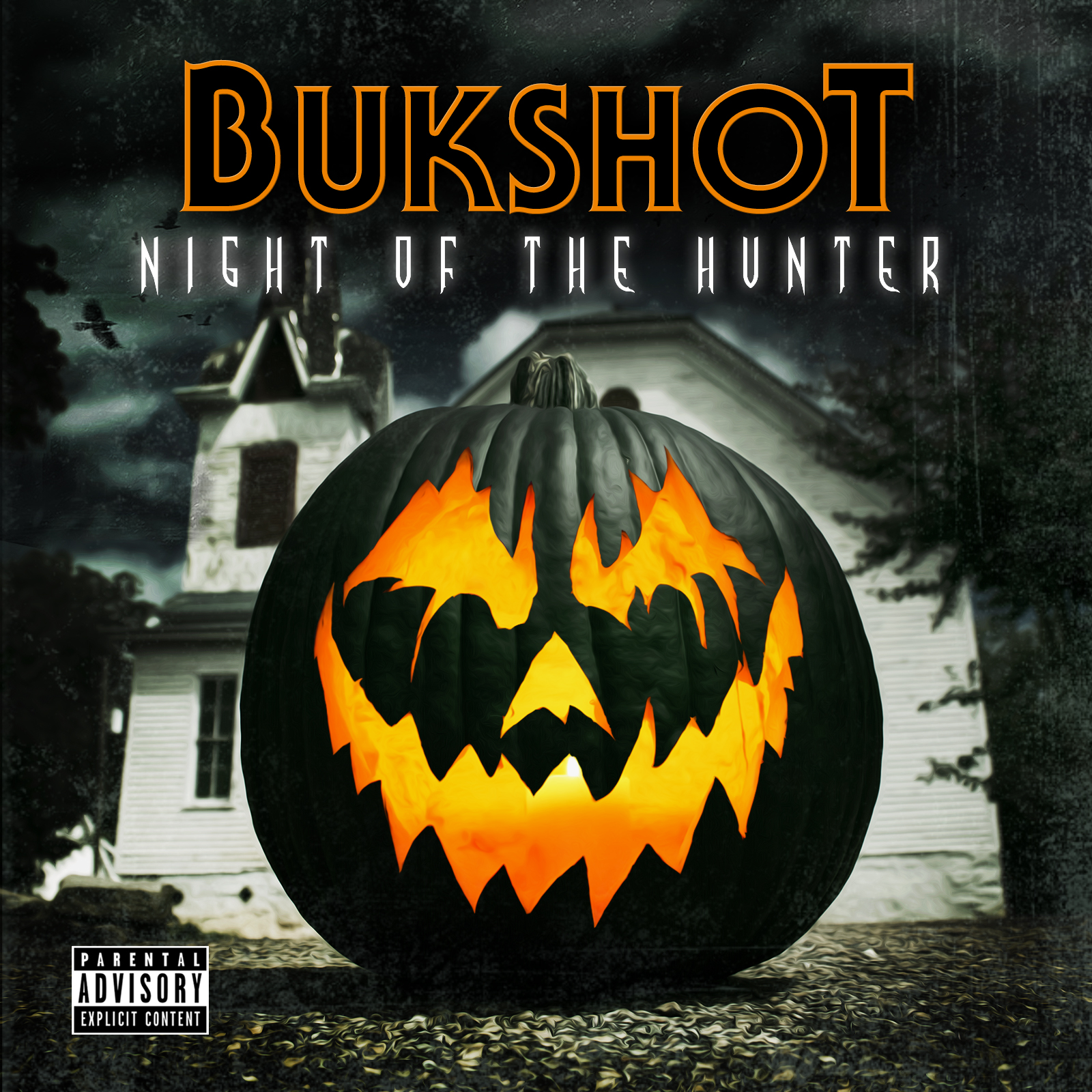 "Bukshot ""Night Of The Hunter"" CD"