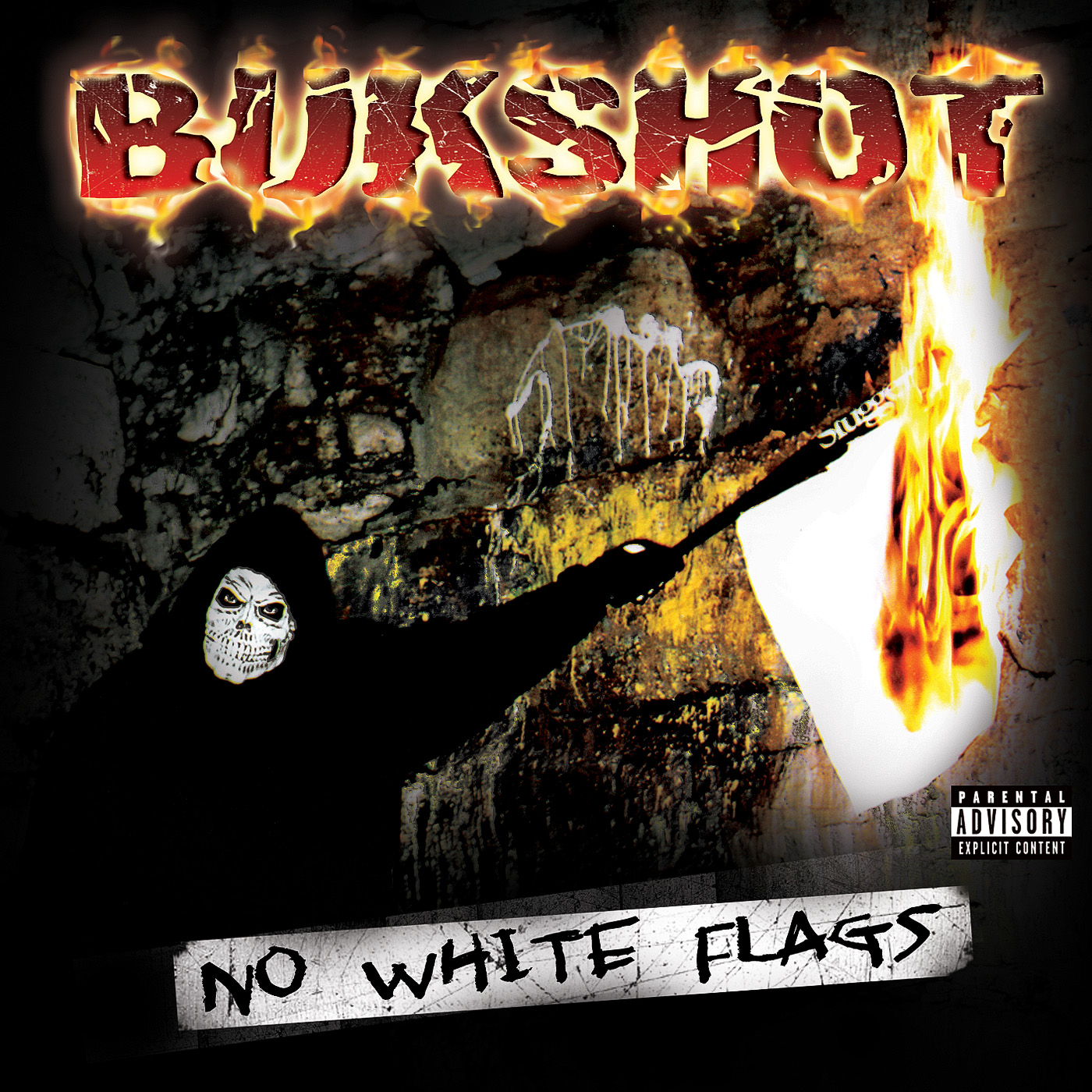 "Bukshot ""No White Flags"" CD (Original Press!)"