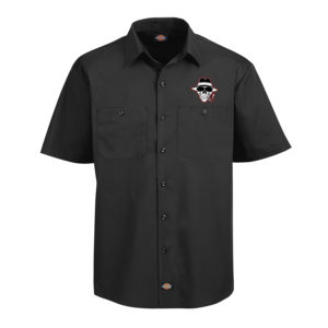Bukshot Work Shirt Front (Red)