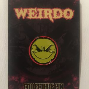 Weirdo Hat Pin (Yellow/Red)