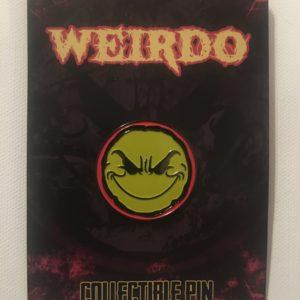 Weirdo Hat Pin (Yellow/Red)