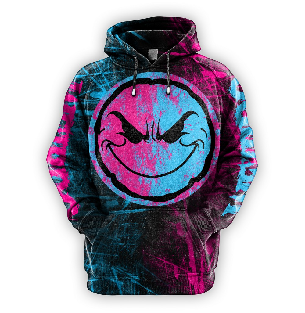 Weirdo Sublimated Hoodie (PRE-ORDER) Comes With LIMITED EDITION Bukshot CD!