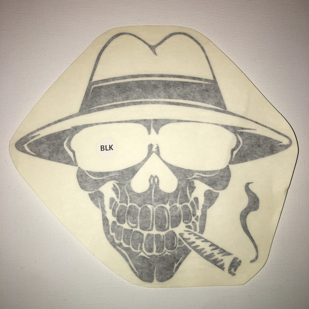 Smoking Joe 5″ Vinyl Window Decal (5 Different Colors)