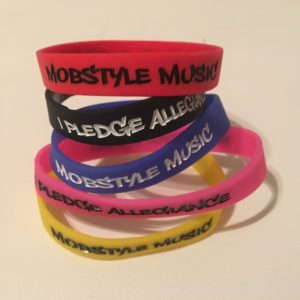 Mobstyle Wrist Bands (Pack Of 5 Colors)