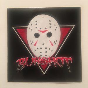 Bukshot 4″ Full Color Sticker