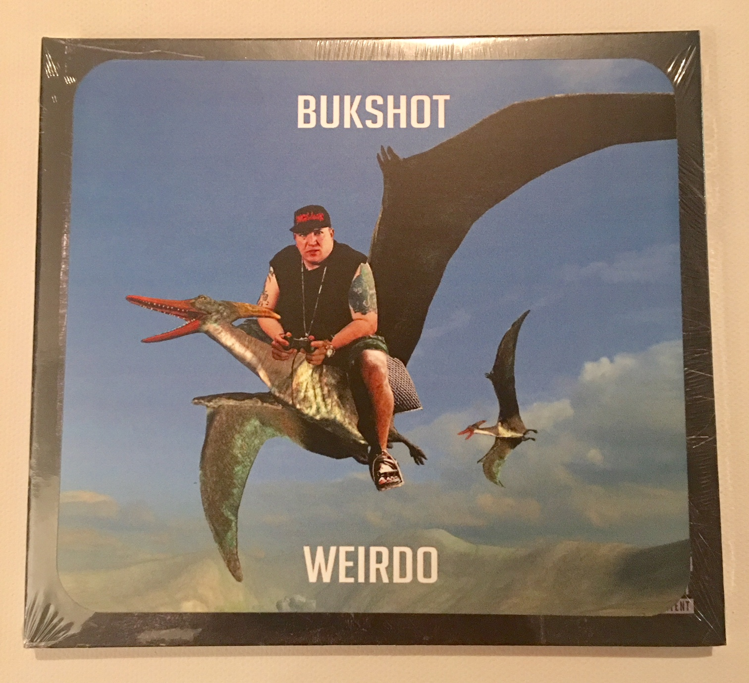 "Bukshot ""Weirdo"" CD With LIMITED Pterodactyl Sticker!"