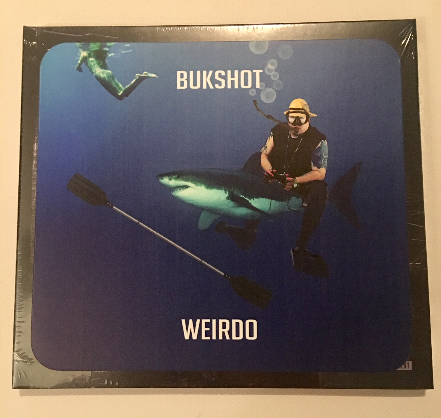 "Bukshot ""Weirdo"" CD With LIMITED Shark Sticker!"