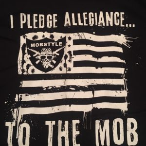 "Old School ""I Pledge Allegiance"" T-shirt (Black)"