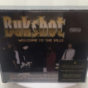 "Bukshot – Welcome To The Ville ""Triple OG Version"" 3 Disc Set (Only 50 Copies Pressed!)"