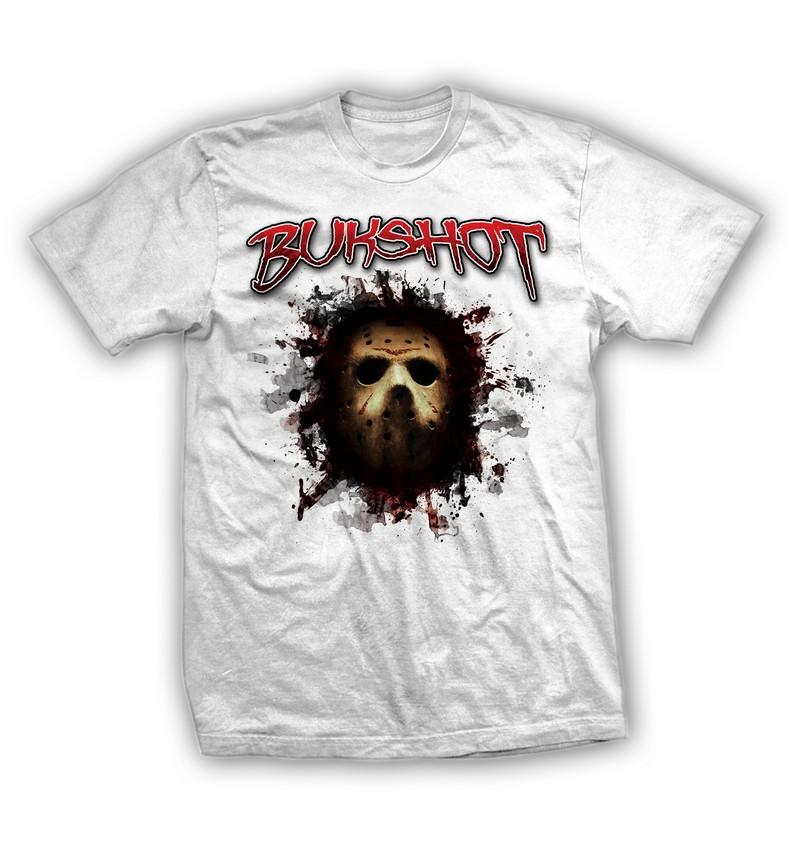 """Bukshot """"Jason Mask"""" T-shirt"""