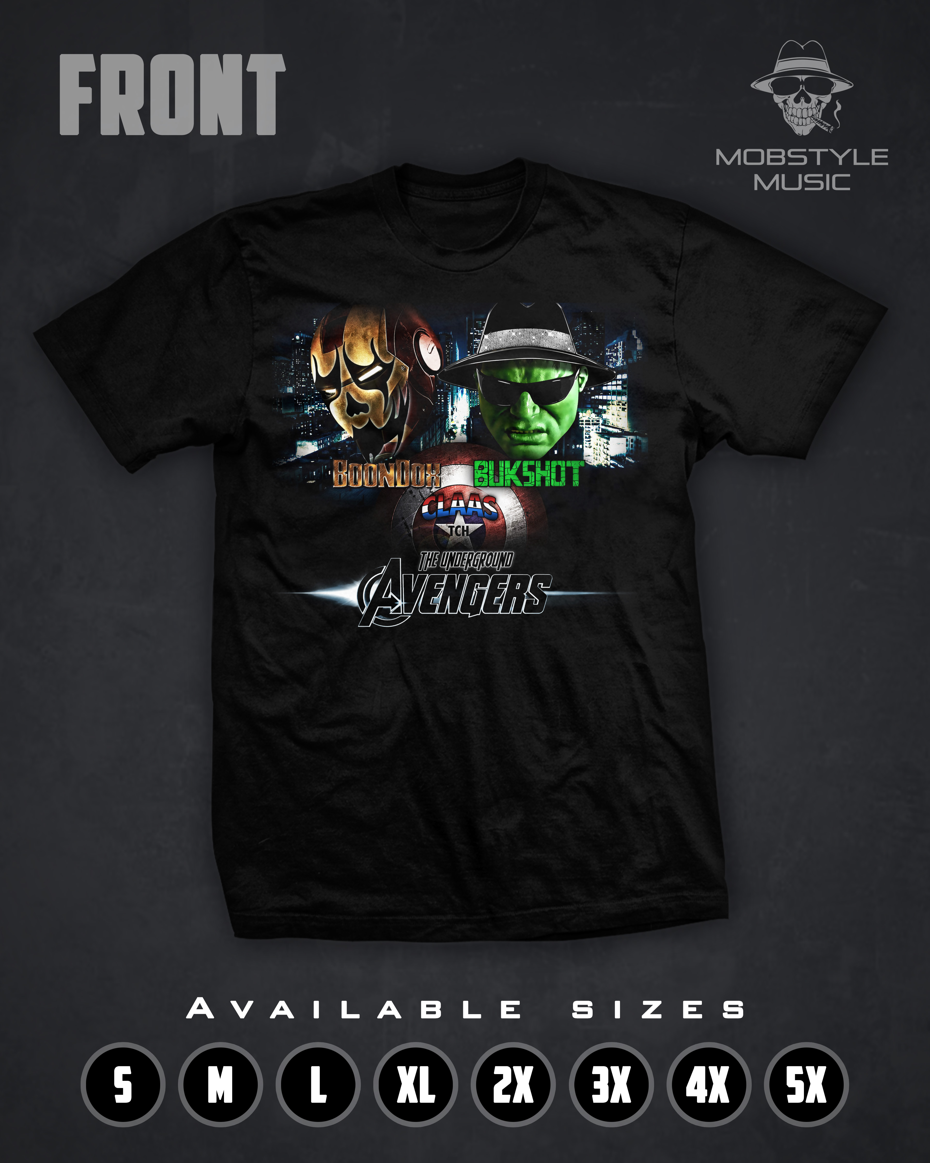 Underground Avengers T-shirt
