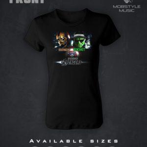 Underground Avengers Ladies T-Shirt